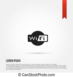 Wireless icon. WIFI.