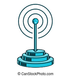 Wireless Network icon. Wifi sign
