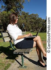 Wireless network office outdoor