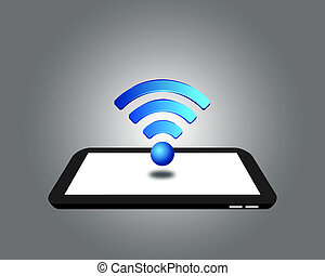 Wireless on the Digital Tablet