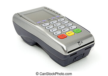 Wireless POS-terminal - Modern wireless POS-terminal with...