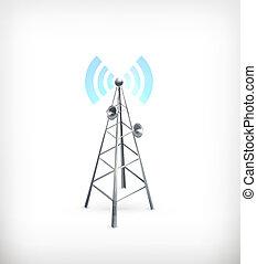 Wireless, vector icon