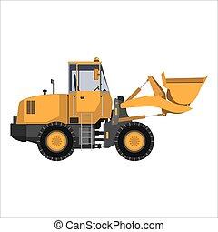 wischeimer, traktor