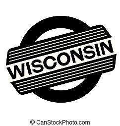 wisconsin black stamp