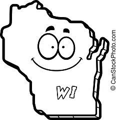 wisconsin, cartone animato