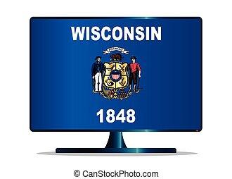 Wisconsin Flag TV