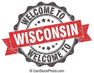 Wisconsin round ribbon seal