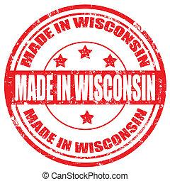 wisconsin-stamp, hecho