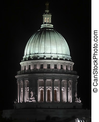 Wisconsin State Capital - The Capital Building in Madison...