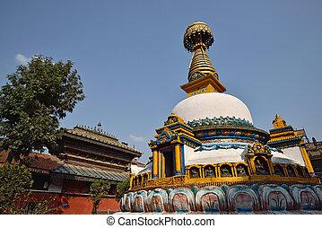 Wisdom eyes, imitate of Bodhnath, Nepal