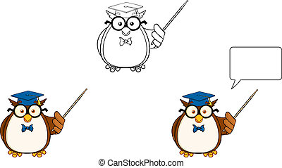 Wise Owl Teacher 3. Collection Set