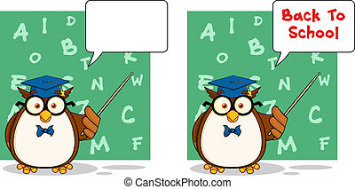 Wise Owl Teacher 4. Collection Set