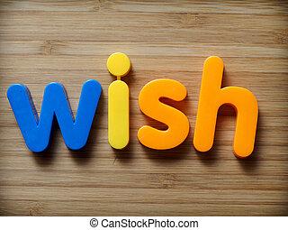 Wish concept
