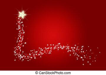wishing star - wish upon a shooting star at christmas or...