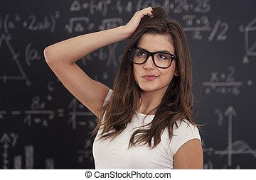 wiskundig, niet, vergelijking, het oplossen, hoe, weten