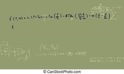 wiskundige vergelijking
