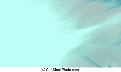 Wispy light blue abstraction animation loop - Light blue...