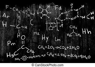 wissenschaft, chemie, abbildung
