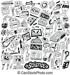 wissenschaft, -, doodles