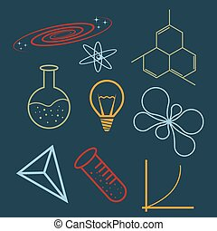 wissenschaft, heiligenbilder
