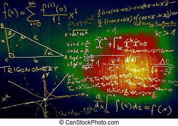 wissenschaft, physik, mathematik