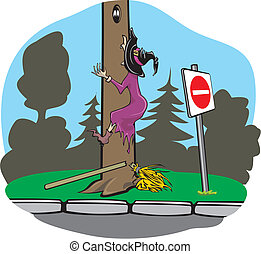 Witch accident - bans - driving lesson, driving license,...