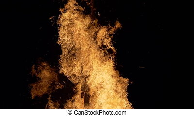A puppet of an old witch is burn during ?Giubiana? (a traditional celebration in the northern Italian) - 30 January 2020, Canzo (Italy)