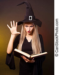 witch conjuring