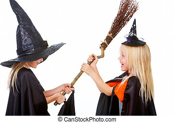 Witch fight