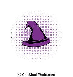 Witch hat comics icon