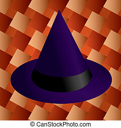 Witch Hat - Illustration of a witch hat.