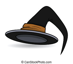witch hat - halloween vector