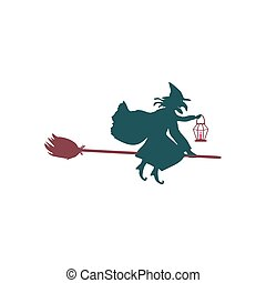 Witch Icon Vector