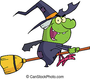 Witch Ride A Broomstick