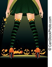 Witch stripper