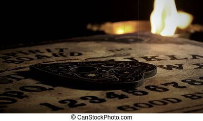 Witchcraft Ouija Board Spirit Game