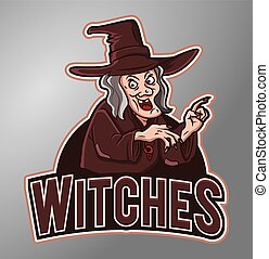 Witches mascot