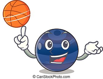With basketball planet neptune in the shape character