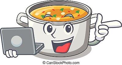 Eating Pasta Cartoon Stock Photos & Eating Pasta Cartoon ...   Cartoon Veggie Pasta