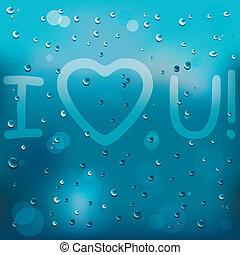 With Love on rain