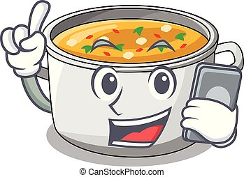 Vegetable soup Clipart Vector Graphics. 6,888 Vegetable ...   Cartoon Veggie Pasta