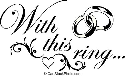 With this ring script