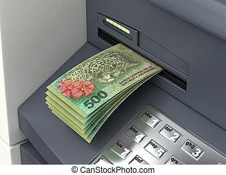 Withdrawal Argentinian Pesos