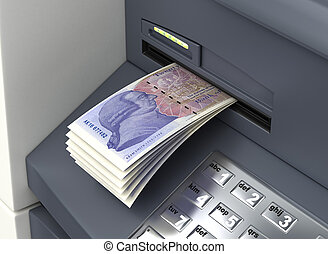 Withdrawal English Pound