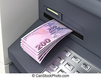 Withdrawal Turkish Lira