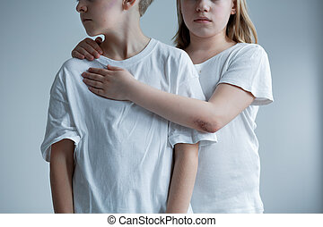 Witnessing domestic violence at home