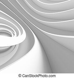 witte , architectuur, ontwerp