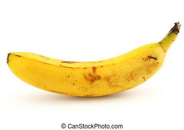 witte , banaan, rijp