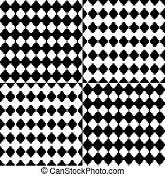 witte , black , geometrisch, achtergrond