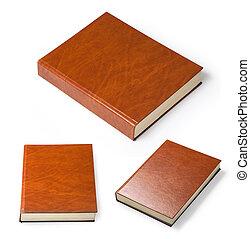 witte , boek, vrijstaand